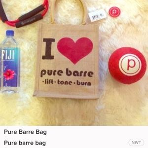 Pure barr tote bag
